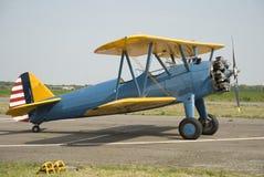 Vecchi aeroplani Immagine Stock