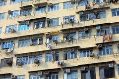 Vecchi appartamenti Immagine Stock Libera da Diritti
