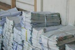 Vecchi archivi Immagini Stock