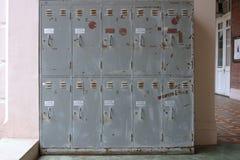 Vecchi armadi Fotografie Stock