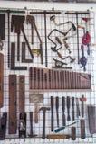 Vecchi attrezzi per bricolage dei carpentieri Fotografie Stock