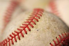 Vecchi baseball Immagine Stock Libera da Diritti