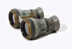 Vecchi binocoli da teatro immagini stock libere da diritti