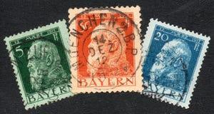 Vecchi bolli tedeschi della Baviera Immagine Stock