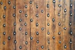 Vecchi bordi e ribattini del metallo Fotografia Stock