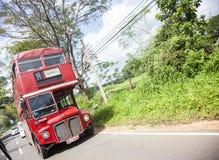 Vecchi buss in Sri Lanka Fotografia Stock Libera da Diritti