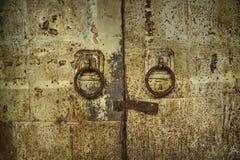 Vecchi cancelli del ferro Fotografia Stock Libera da Diritti