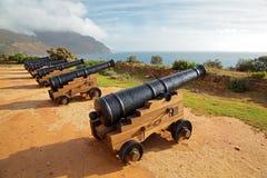 Vecchi cannoni Fotografie Stock Libere da Diritti