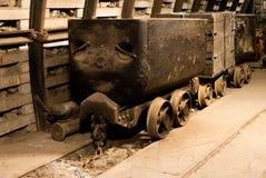 Vecchi carrelli del carbone Fotografia Stock Libera da Diritti