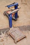 Vecchi carretti Fotografia Stock