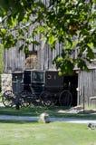 Vecchi carrozzini di Amish Fotografia Stock Libera da Diritti