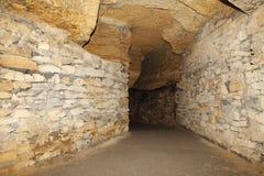 Vecchi Catacombs Odessa, Ucraina (secolo di XVIII-XX) Fotografie Stock Libere da Diritti