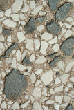 Vecchi cemento e marmo della parete Fotografie Stock Libere da Diritti
