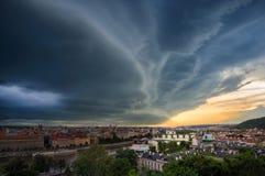 Vecchi città di Praga e ponte di Charles, Praga, repubblica Ceca Immagini Stock Libere da Diritti