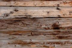 Vecchi comitati di legno del grunge Parete di legno della plancia di Brown Fotografia Stock Libera da Diritti