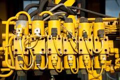 Vecchi connettori. Fotografie Stock