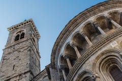 Vecchi costruzione e campanile della cappella Fotografia Stock