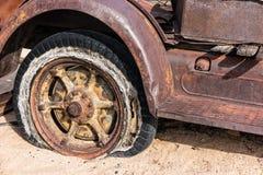 Vecchi dettagli del camion Fotografia Stock Libera da Diritti
