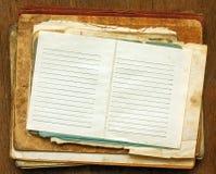 Vecchi documenti Fotografia Stock Libera da Diritti