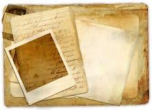 Vecchi documenti Immagine Stock