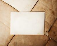 Vecchi documenti della pila Fotografia Stock