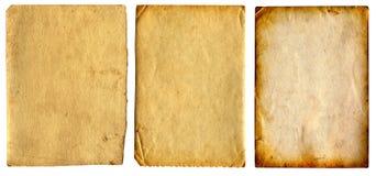 Vecchi documenti impostati fotografia stock libera da diritti
