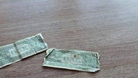 Vecchi dollari di caduta archivi video