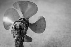 Vecchi e motori del ventilatore sporchi fotografia stock libera da diritti