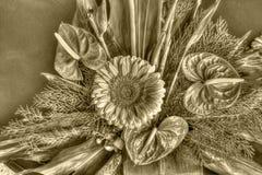 Vecchi fiori fotografie stock
