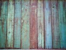 Vecchi fondo e carta da parati di legno della plancia Fotografia Stock Libera da Diritti