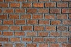 Vecchi fondo e struttura di pietra arancio del mattone Fotografia Stock Libera da Diritti