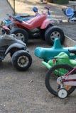 Vecchi giocattoli Fotografie Stock Libere da Diritti