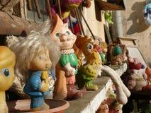 Vecchi giocattoli dei bambini Fotografie Stock Libere da Diritti