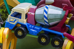 Vecchi giocattoli, memorie Fotografia Stock Libera da Diritti