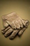 Vecchi guanti Immagine Stock