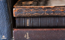 Vecchi Hymnals Immagini Stock Libere da Diritti