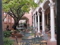 Vecchi incanto e bellezza del sud a Charleston, Sc immagine stock libera da diritti