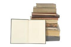 Vecchi libri Immagini Stock