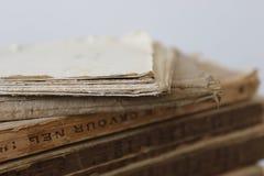 Vecchi libri Immagini Stock Libere da Diritti