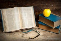Vecchi libri Fotografie Stock Libere da Diritti