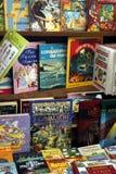 Vecchi libri da vendere Fotografia Stock Libera da Diritti