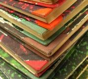 Vecchi libri del libro Fotografie Stock
