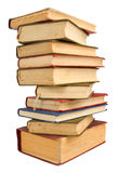Vecchi libri del mucchio Immagini Stock Libere da Diritti