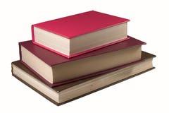 Vecchi libri della pila Fotografie Stock Libere da Diritti