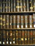 Vecchi libri di legge del Texas Fotografie Stock