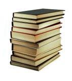 Vecchi libri isolati su bianco Fotografia Stock Libera da Diritti