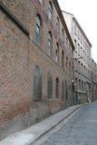 Vecchi magazzini a Liverpool Fotografia Stock
