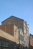 Vecchi magazzini a Liverpool Immagini Stock