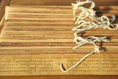 Vecchi manoscritti Fotografie Stock