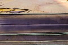 Vecchi materassi Fotografia Stock Libera da Diritti